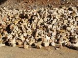 Stock pierre à bâtir clivée en vrac