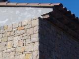 Habillage façade en pierre à bâtir clivée